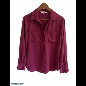 3/$30 Cleo button down long sleeve blouse